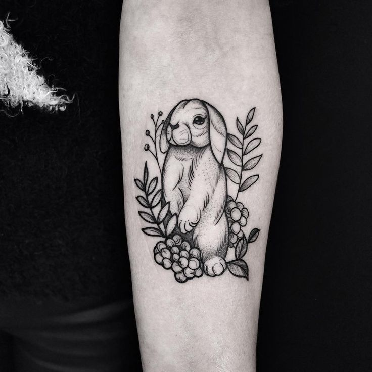 only best 25 ideas about bunny tattoos on pinterest