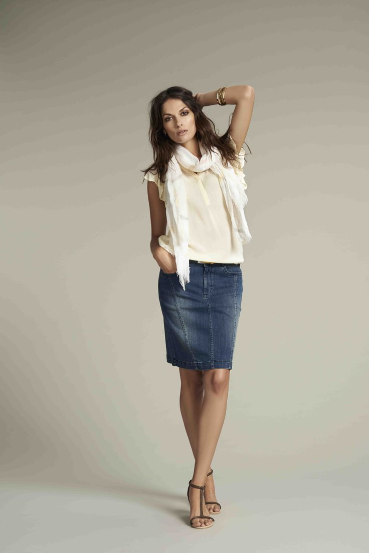 Soyaconcept - blouse - top - skirt - scarf