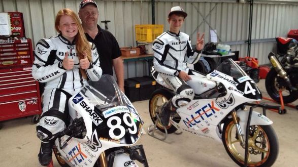 Tayla and Jacob are young, keen and dedicated road racers. The siblings are self funding their race team and are currently struggling to repair their broken crank shafts. #itsMYCAUSE #crowdfunding #fundraising #family #bikes #motorbikes #motorcycles #racing #sport #siblings