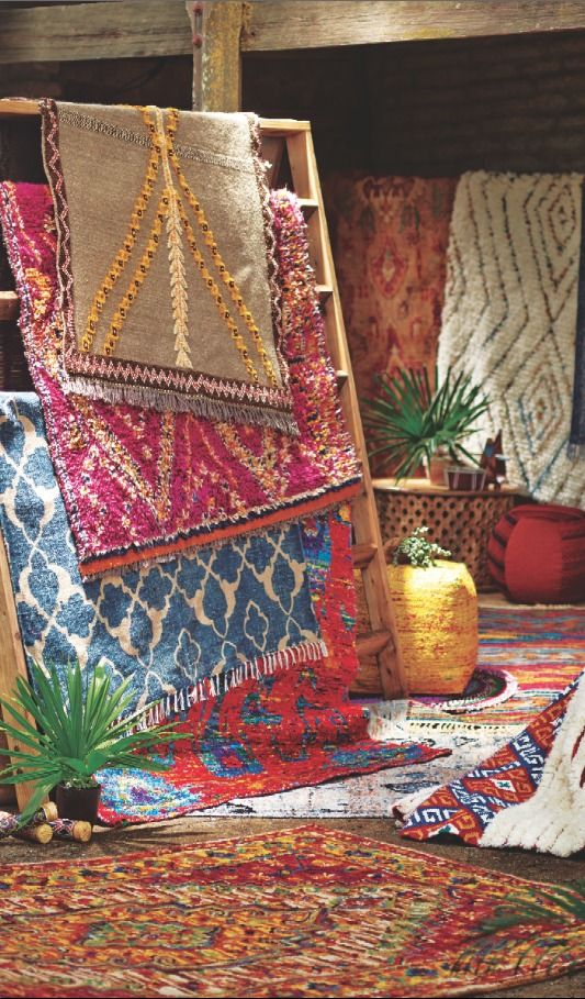 Know Your Rug Materials | From natural plant and animal fibers to durable man-made yarns, discover our array of rug materials. >> #WorldMarket Home Decor, Tips