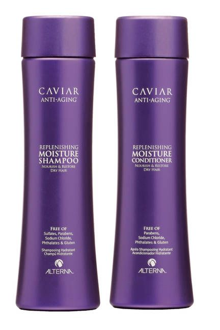 Alterna Caviar Moisture is @Sarah Howard's favorite  natural Shampoo and Conditioner.
