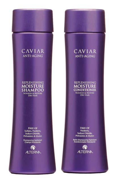 Alterna Caviar Moisture is @Sarah Howard's favorite  natural Shampoo and Conditioner.