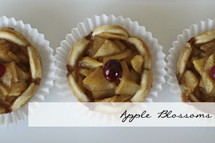 Delicious Apple Blossoms made with local apples and our famous butter crust.