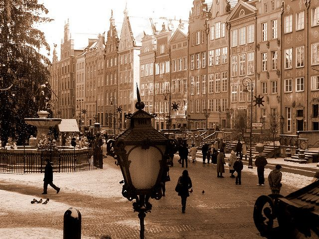Gdansk, Poland is relatively near where some of my Prussian ancestors are from.