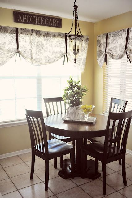 living room dining room kitchen window treatment idea curtain use