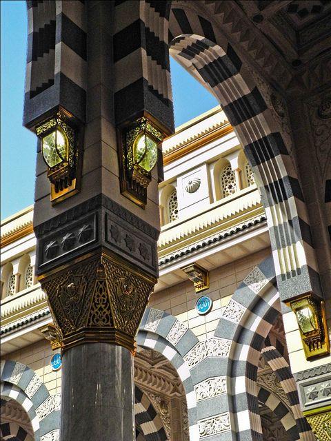 Masjid-e-Nabawi, Madina via ShaukatNiazi, Flickr