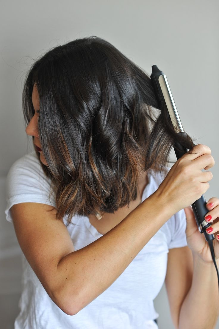 how to create beachy waves on short hair via @mystylevita