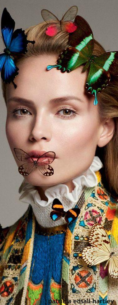 Natasha Poly for Vogue Russia April 2015