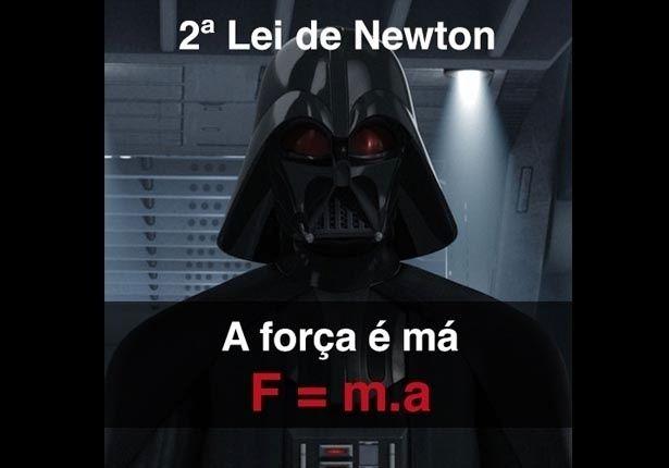 FÍSICA (Macete de fórmula gravidade): A força é má. Lembre-se disso na hora de medir força, massa ou aceleração de um corpo (2ª Lei de Newton)