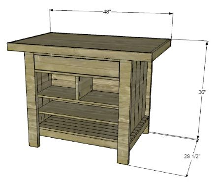 Diy Kitchen Island Plans 62 best kitchen island plans images on pinterest | kitchen ideas