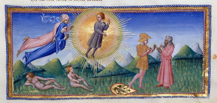 Aeneas and Anchises - Dante Alighieri Title Divina Commedia Origin Italy, N. (Tuscany, Siena?) Date between 1444 and c. 1450 Language Italian http://www.bl.uk/catalogues/illuminatedmanuscripts/record.asp?MSID=6468&CollID=58&NStart=36