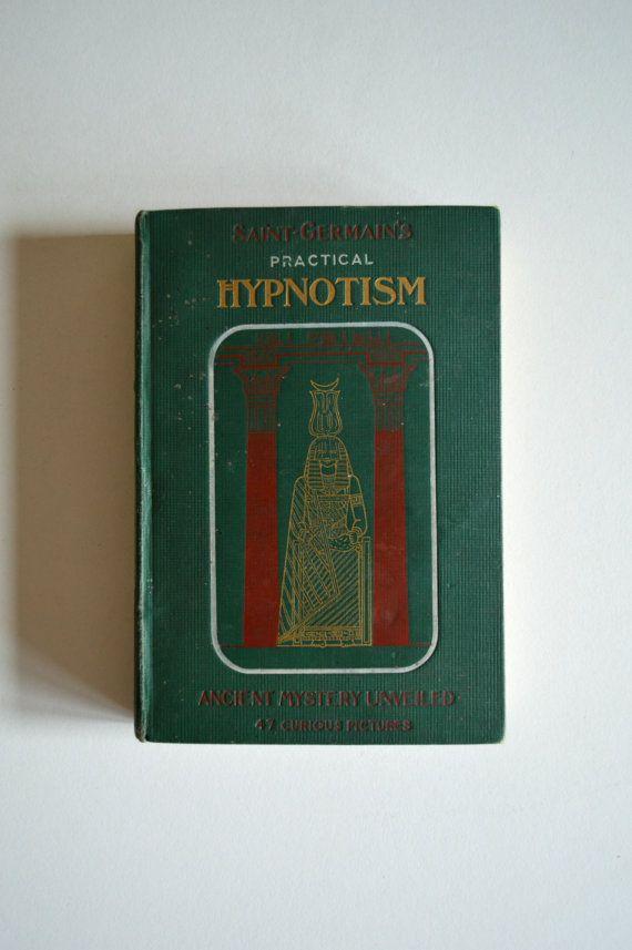 Antique Occult Book.  Practical Hypnotism