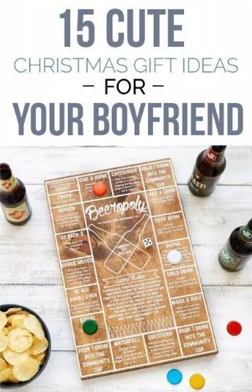 15 Cute Christmas Gift Ideas For Your Boyfriend The Ultimate