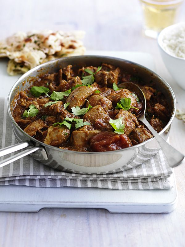 Chicken madras. This recipe for chicken madras is a really easy way to feed the family - a classic chicken curry for under 300 calories