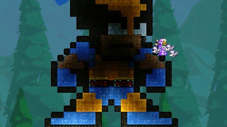 Terraria: Pixel Art Tutorial - Wolverine  | Luke Games