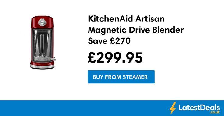 KitchenAid Artisan Magnetic Drive Blender Save £270, £299.95 at Steamer