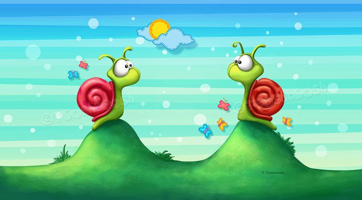 Missing snails by Tooshtoosh