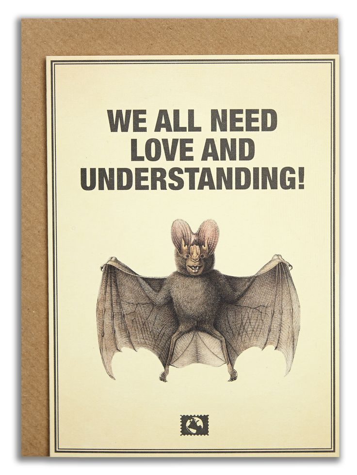 """We all need love and understanding!"".   #messageearth #sustainable #greetingcards #sustainability #eco #design #ecodesign #vintage #cards #peculiar"