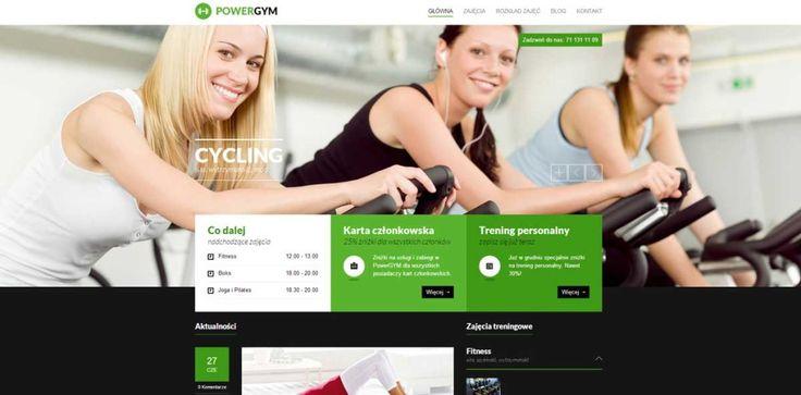 www.powergym.com.pl Strona siłowni z poradami na temat wykonywania ćwiczeń