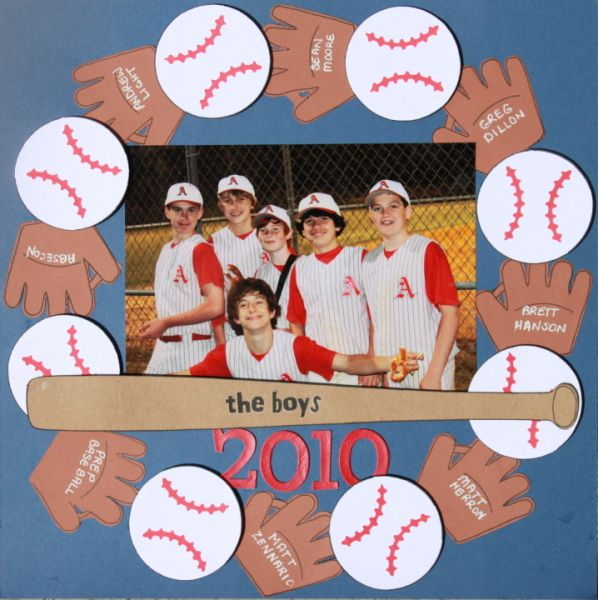The Boys - 2010 - Scrapbook.com