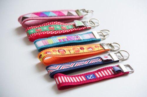 3-Minuten-DIY Schlüsselanhänger