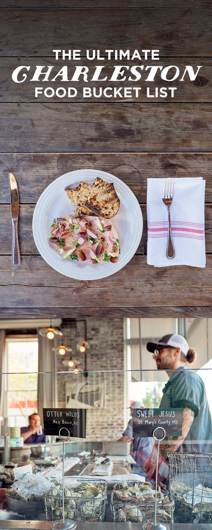 The Ultimate Charleston Food Bucket List - 49 Amazing Places to Eat in Charleston SC // localadventurer.com