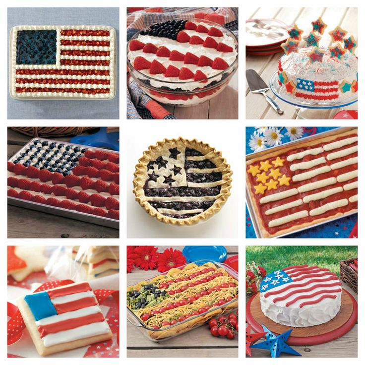 Honor Old Glory with one of these patriotic flag recipes from Taste of Home.