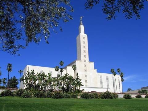 Los Angeles, CA, LDS Temple. I was married in this temple. Talk about a beautiful venue!