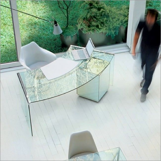 Home Office Glass Desk 905 best office spaces images on pinterest | kitchen, office