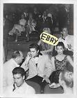 RARE ELVIS CANDID PHOTO WITH COL PARKER TV SET MILTON BERLE SHOW LOT #532