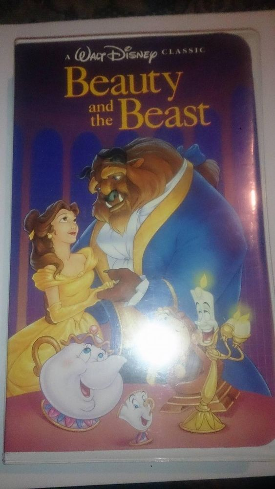 Beauty theBeast Black Diamond Classic VHS 1992 First Release Mint rare