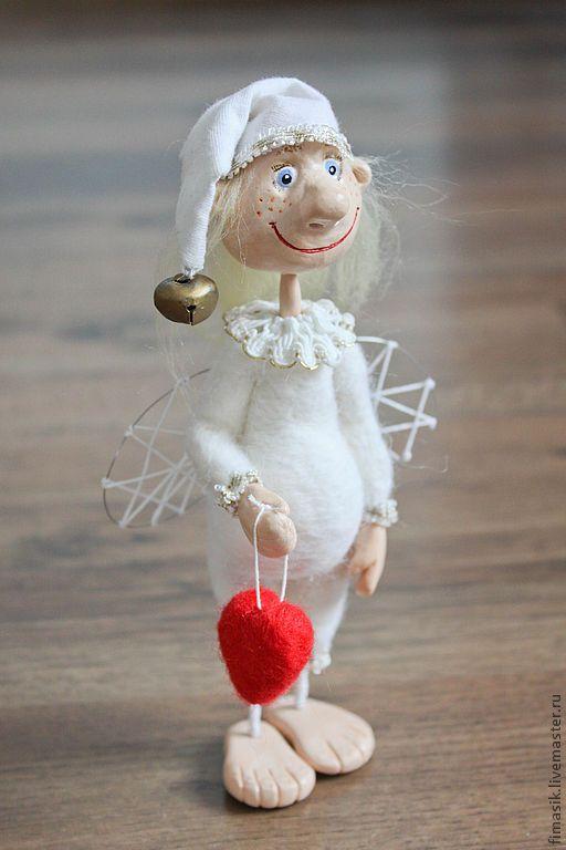 Купить Домовой ангел Ерема - ангелочек, ангел-хранитель, сувениры и подарки, оригинальный подарок