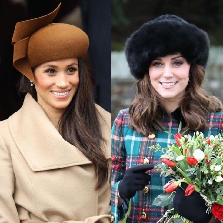 "73 Likes, 1 Comments - Royal Addicted (@royaladdicted2) on Instagram: ""#New The Duchess of Cambridge and Meghan Markle attended Christmas Day celebrations and Sandringham…"""