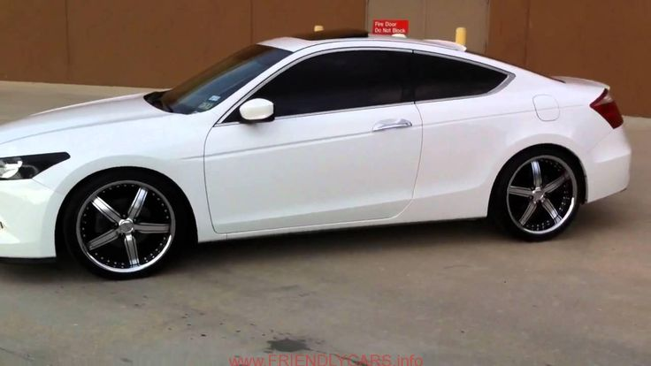 awesome honda accord coupe 2008 white car images hd Honda Accord Coupe 2013 White   The CarSpeed