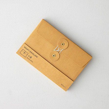 "pure-and-honest: ""(via Midori Medium Kraft Envelopes | Home | Steven Alan) """