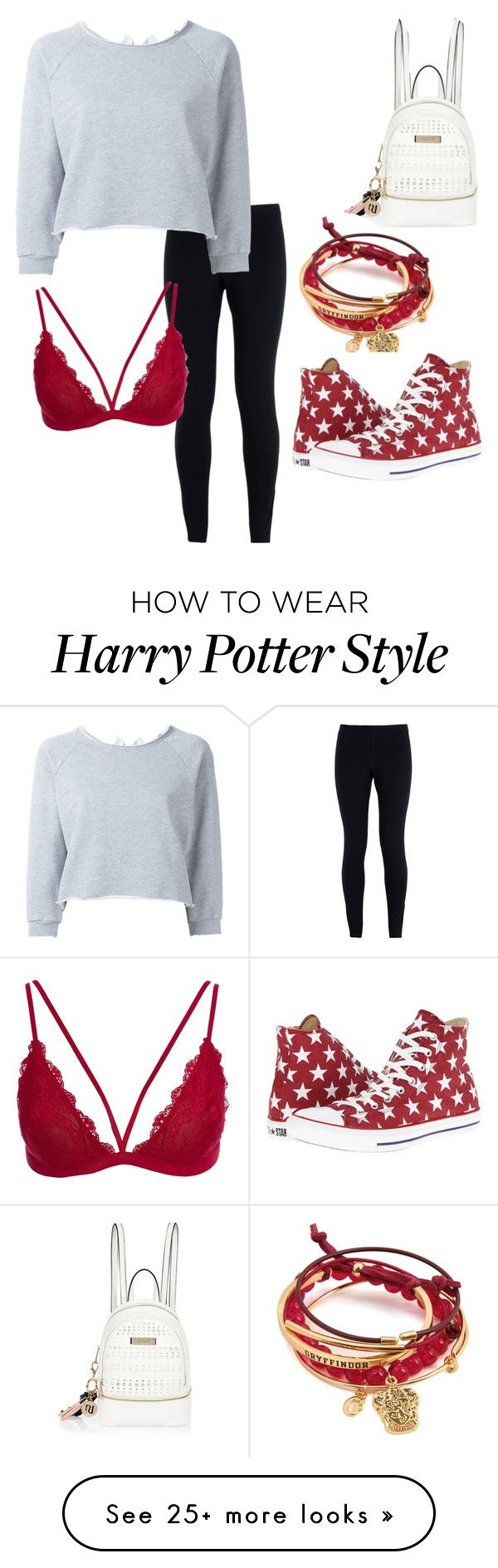 """Untitled #10"" by naja-pown on Polyvore featuring NIKE, Gaëlle Bonheur, Converse, River Island, Leggings and WardrobeStaples"