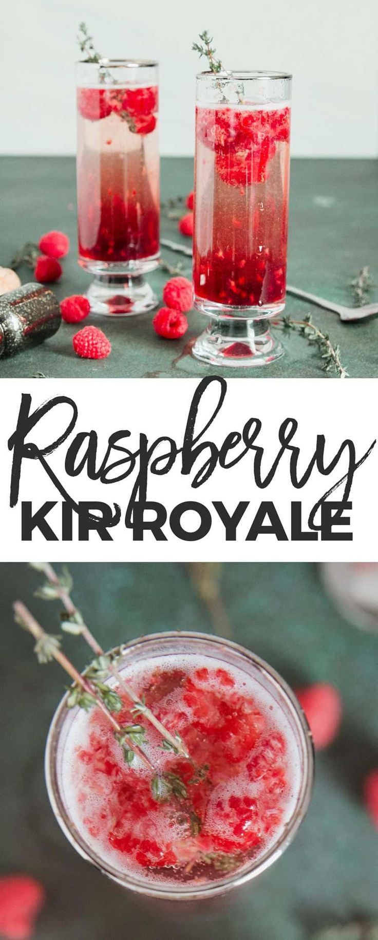 My Raspberry Kir Royale Is A Fun Riff On The Classic Kir Royale Just 3 Ingredients And Yo Champagne Cocktail Champagne Recipes Cocktails Cocktail Recipes Easy