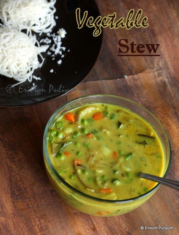 Erivum Puliyum: Vegetable Stew |  Kerala Vegetable Ishtu | Breakfa...