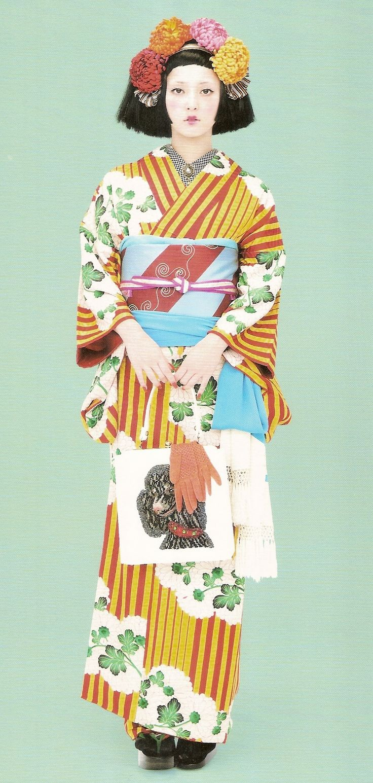 Kimono-hime issue 9. Fashion shoot page 8. ViaSatomi Grim of Flickr