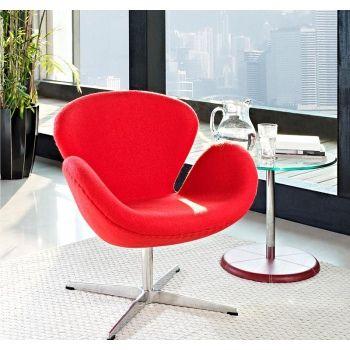 Кресло Swan Chair Red