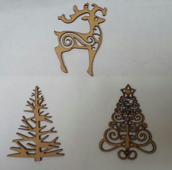 M s de 1000 im genes sobre navidad en madera en pinterest - Arboles de navidad en madera ...
