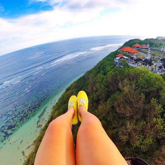 Bukit Timbis, paragliding in Bali