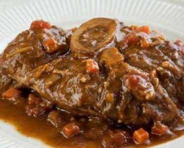 Ossobuco original made en Italy...