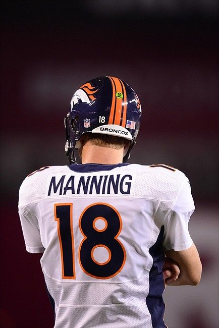 Peyton Manning. Not that I'm a Denver Fan, but I am a fan of Peyton. Undeniably…