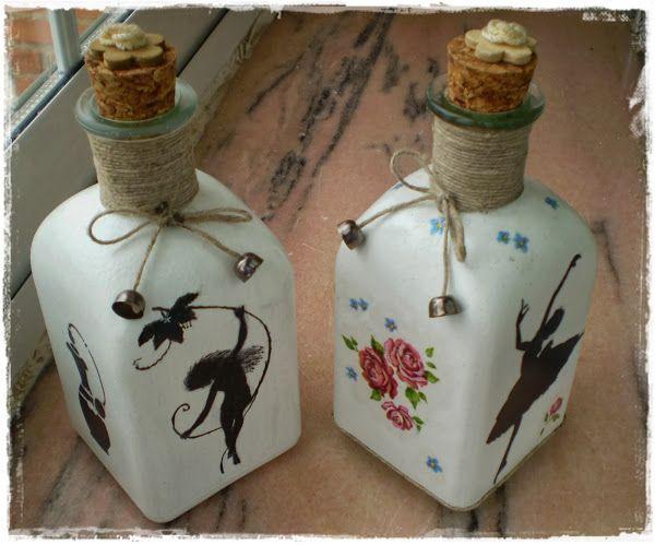 17 best images about botellas on pinterest hand painted - Botellas de plastico decoradas ...
