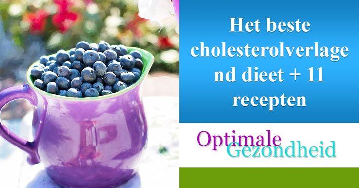 Het beste cholesterolverlagend dieet + 11 recepten Zoals je misschien wel weet wordt een gedeelte van je cholesterol in je lichaam aangemaakt door je lever. Ook krijg je een deel van het cholesterol binnen door voeding.Je hebt voeding dat je cholesterol juist verhoogt en je