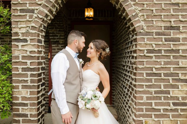 Bride and Groom, Castle Creek Golf Course Wedding, Posing Ideas, Midmichigan Wedding Photographer, Champagne Wedding Dress, Tan Brown Tuxes Suits
