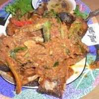 Thai Spicy Catfish Pad Ped Pladuk Recipe