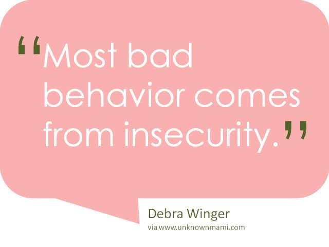 Absolutely believe this. Everyone exhibits bad behavior from time to time, but only a coward denies it. Little People seem like big personalities sometimes, but they are actually devoid of self respect.