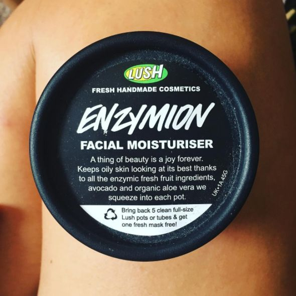 Lush Enzymion Moisturizer | 17 Life-Changing Moisturizers That People With Oily Skin Swear By